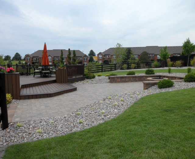Stone landscape integration